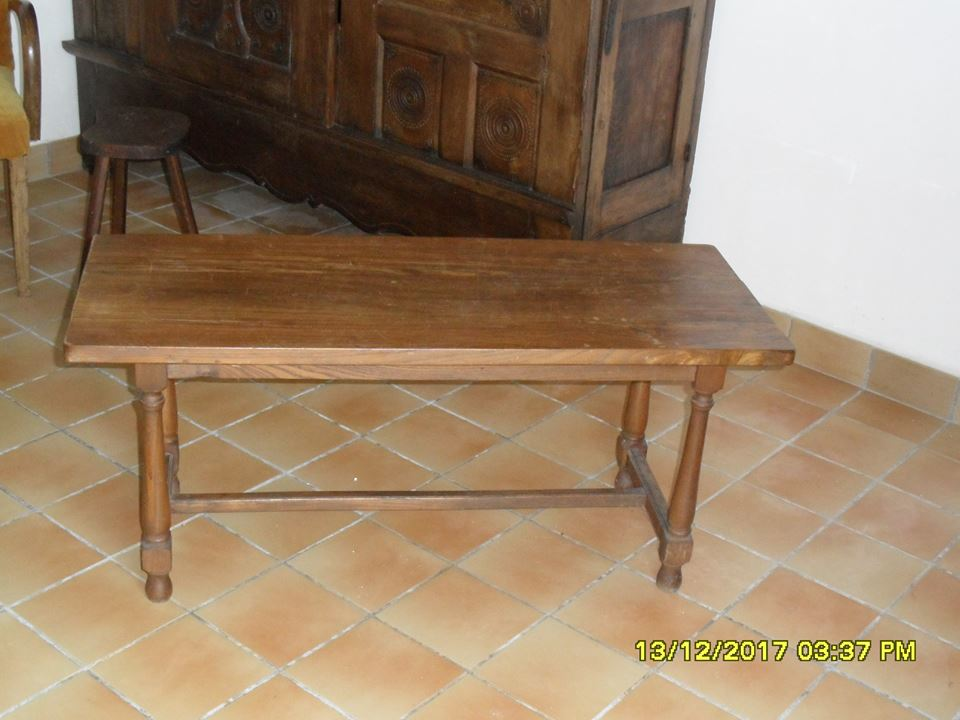 Photo don objet -Table basse