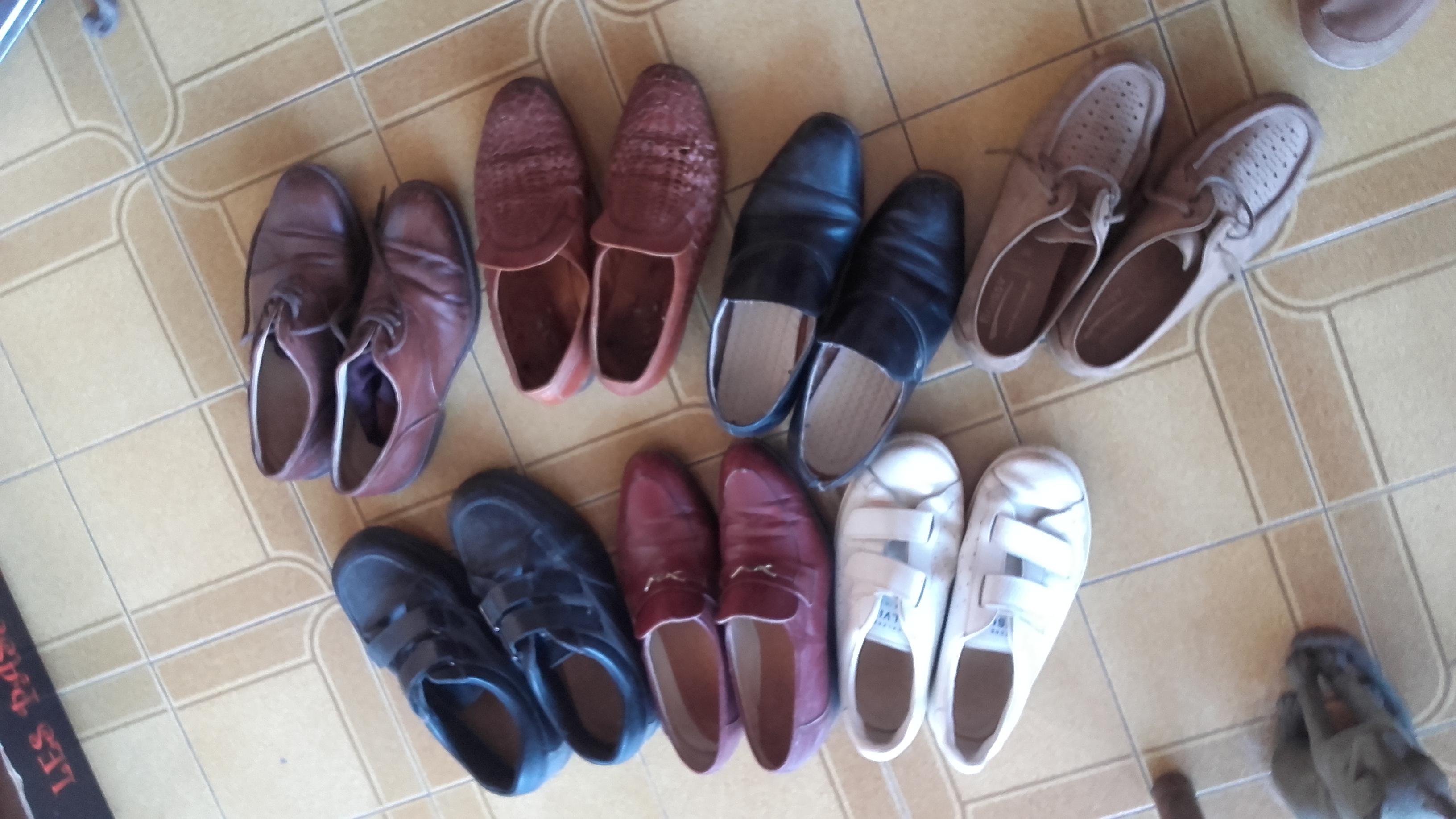 Photo don Lot de chaussures h. 39/40