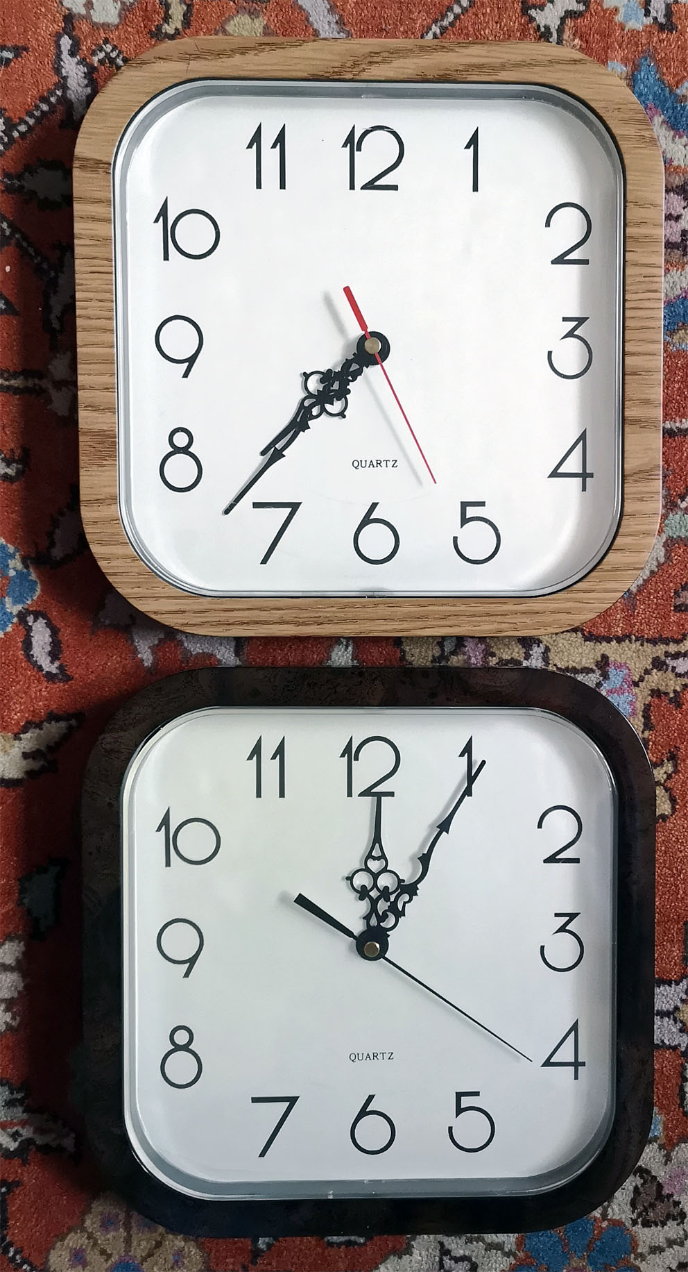 Photo don objet -Horloges murales