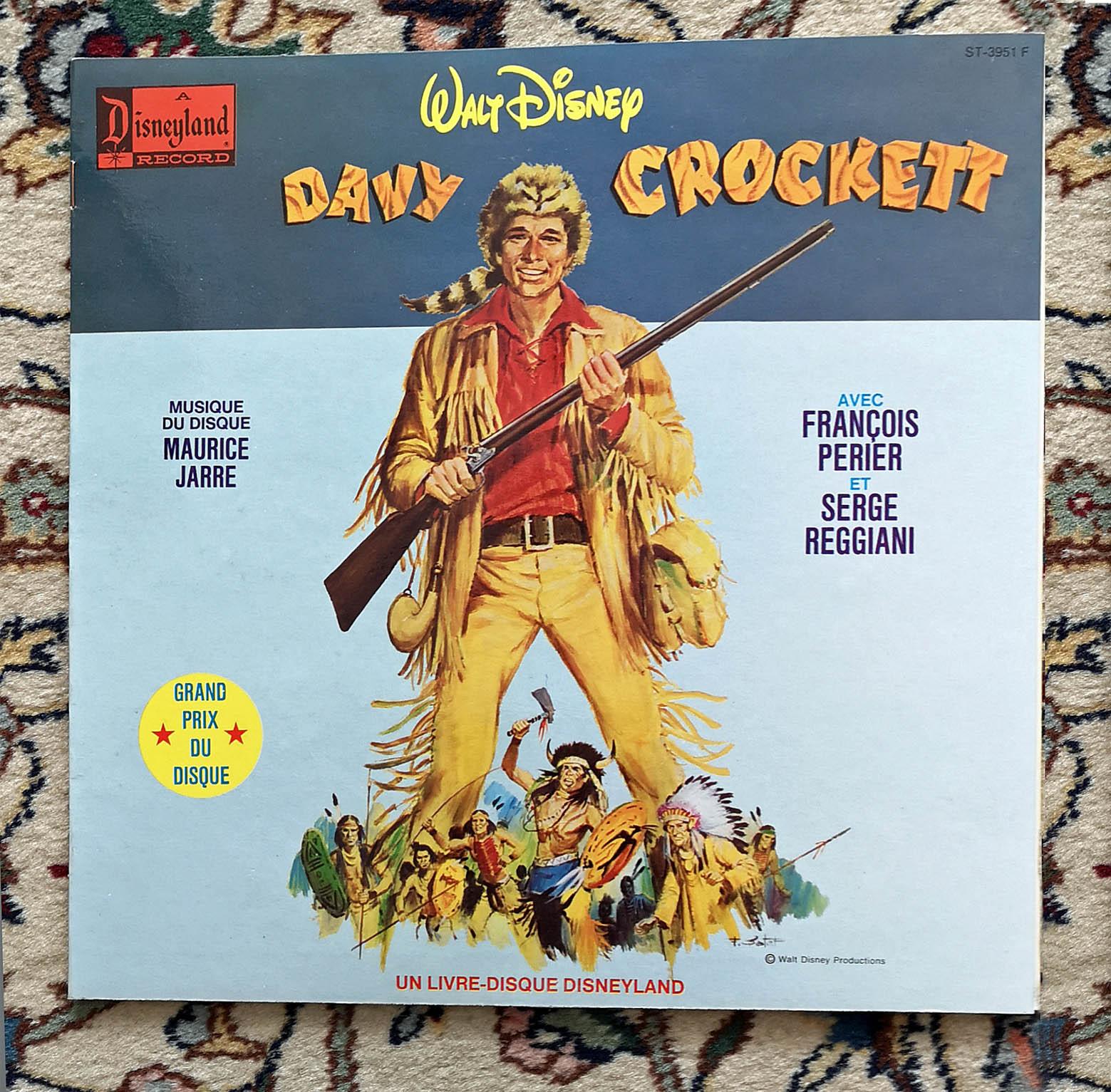 Photo don Livre-disque davy crockett